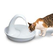 Лебедь поилка для животных с фонтаном, тихий автоматический электронный фонтан воды для кошки и собаки США штекер