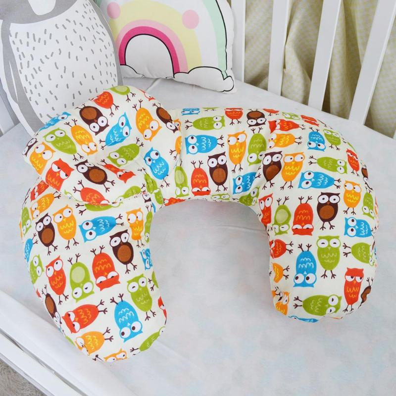 Newborn Baby Nursing Pillows Maternity Baby U Shaped Breastfeeding Pillow Infant Cuddle Cotton Feeding Waist Cushion