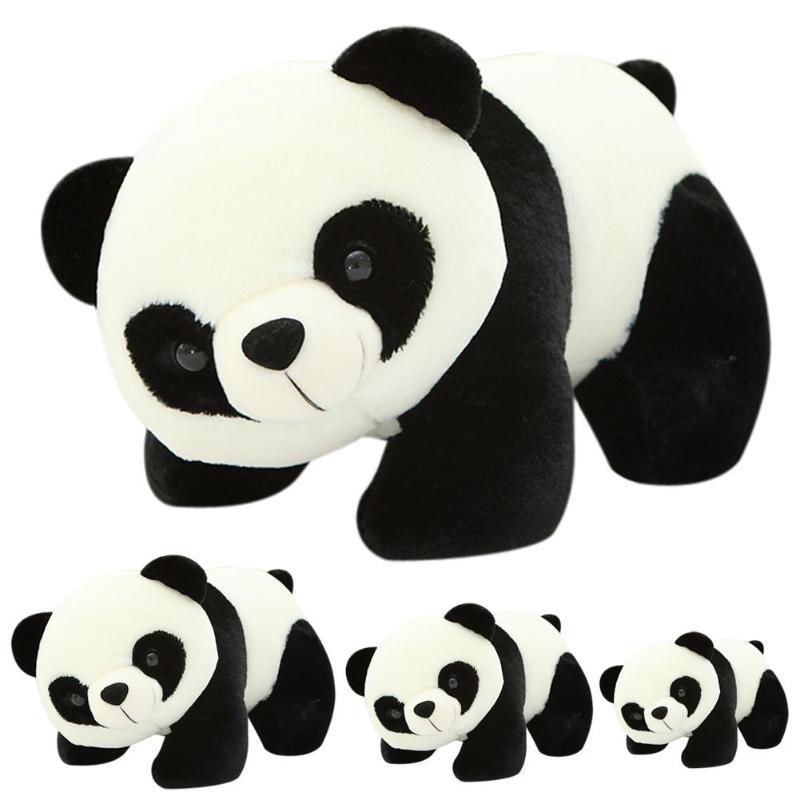 Children Panda Doll Plush Cute Stuffed Toys Animals Cloth Dolls Toys For Girls Boys Accompany Doll Gift