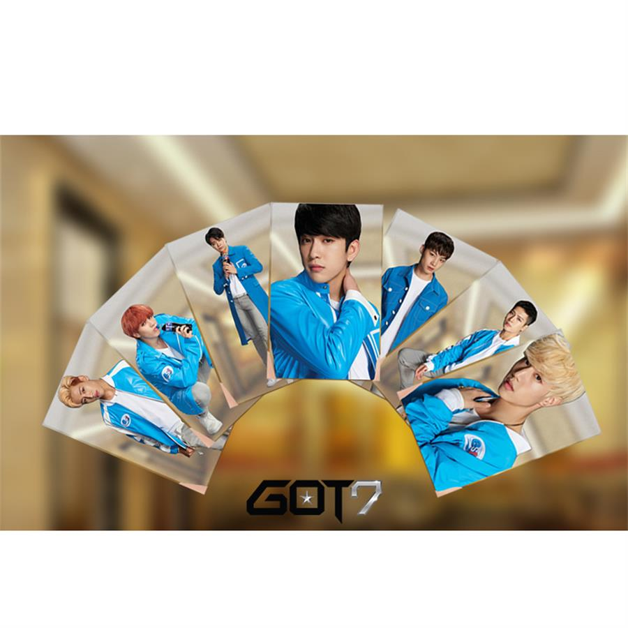 Kpop Got7 Members Pvc Clear Photo Card Jb Bambam Hd Photocard Jackson Yugyeom Collective Cards Beads & Jewelry Making