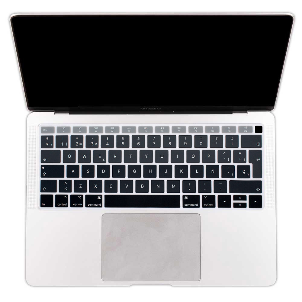 Silicone Keyboard Cover Skin for MacBook Air 13 13.3 with Retina Display-Jb8