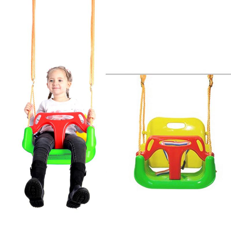 Ensemble de balançoire 3 en 1 pour bébé à enfant en bas âge, pour enfants et enfants, à l'intérieur et à l'extérieur