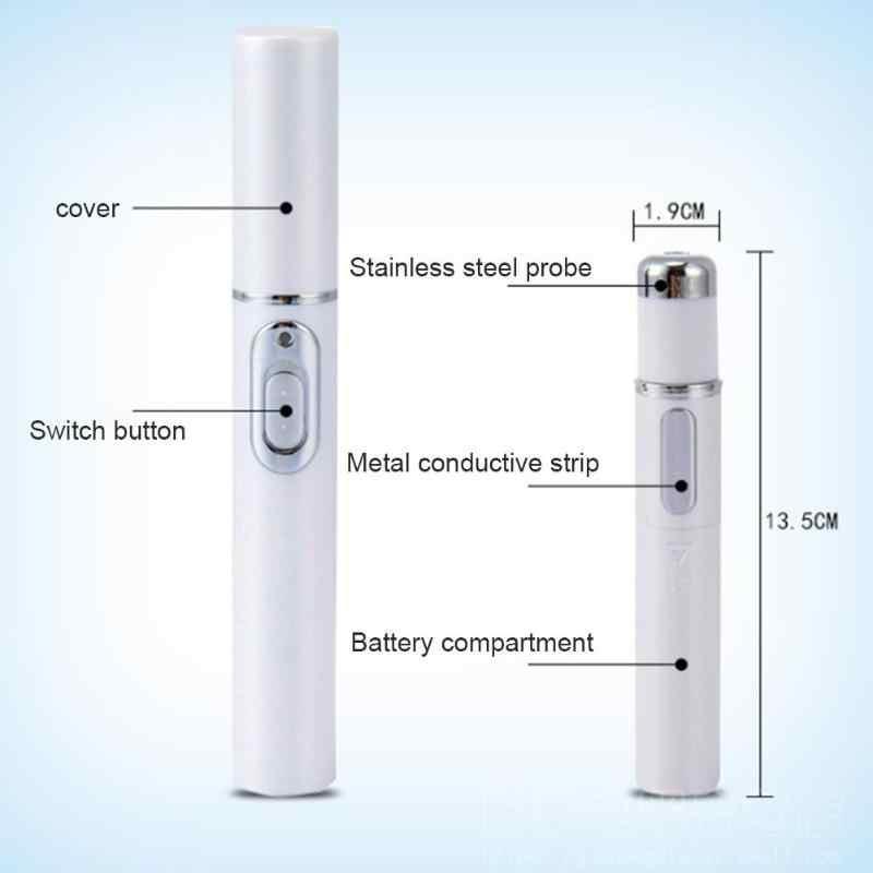 Pro Yeni Akne Lazer Kalem Taşınabilir Kırışıklık Kaldırma Makinesi Dayanıklı Yumuşak Yara Izi Mavi Işık Tedavisi Kalem Masaj Relax Güzellik Cihazı