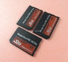 소니 8 기가 바이트 16 기가 바이트 32 기가 바이트 PSP 1000/2000/3000 메모리 스틱 MS 프로 듀오 메모리 카드