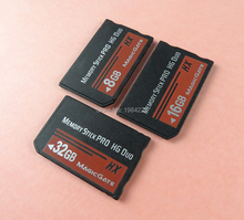 For Sony 8GB 16GB 32GB PSP 1000/2000/3000 Memory Stick MS Pro Duo Memory Card