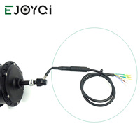 EJOYQI Convert Extension Cable Motor 9 Pin 12V To 72V Conversion Line Waterproof SM Connector E bike Accessories For Motor|Electric Bicycle Accessories| |  -