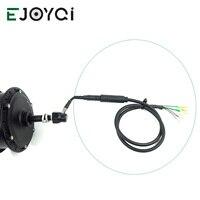 EJOYQI konwertuj kabel przedłużający silnik 9 Pin 12V do 72V przewód konwersji wodoodporne złącze SM e bike akcesoria do silnika w Akcesoria do rowerów elektrycznych od Sport i rozrywka na