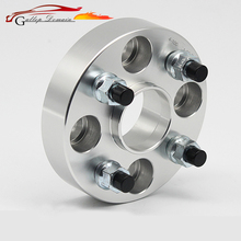2PCS PCD 4X108 Center Bore 65.1mm Thick 25/30mm Wheel Spacer Adapter For Peugeot 206 307 308 3008 Spacers M12XP1.5 Nut