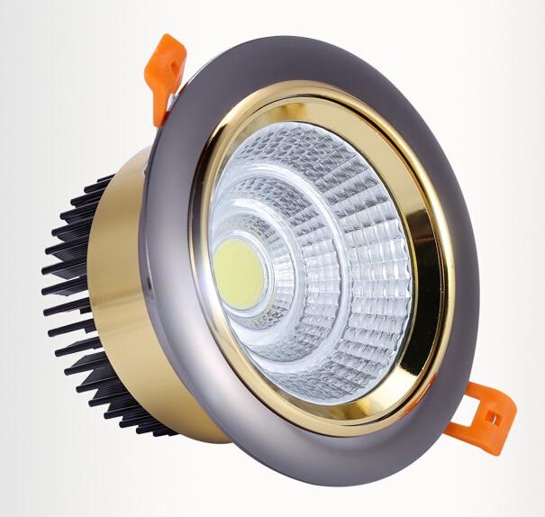 Besplatna dostava Super Bright 10W 15W prigušena LED COB Stropna - LED Rasvjeta