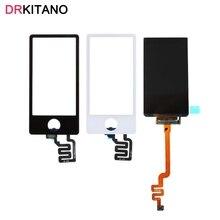 ЖК дисплей для Apple iPod Nano7, 7 й сенсорный экран, дигитайзер для iPod Nano7, ЖК экран Nano 7, сенсорный экран, запасные части
