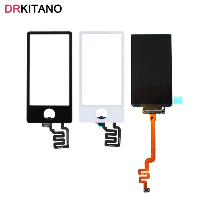 For Apple iPod Nano7 LCD Display 7th Touch Screen Panel Digitizer For iPod Nano7 LCD Nano 7 Touch Screen Replacement Parts
