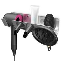 Ultrasonic Wave Hair Dryer For Dyson Aluminum Alloy Wall mounted Bracket Hanger Holder