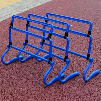 Wrażliwa piłka nożna prędkość Mini piłka nożna piłka nożna bariera rama sprzęt treningowy piłka nożna Mini przeszkoda Remover w stanie do skoku bieganie tanie i dobre opinie CN (pochodzenie)
