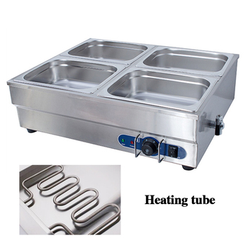 4 pans electric commerical bain marie of catering equipment stainless steel hot food warmer buffet server Kitchen Equipment Клейкая лента