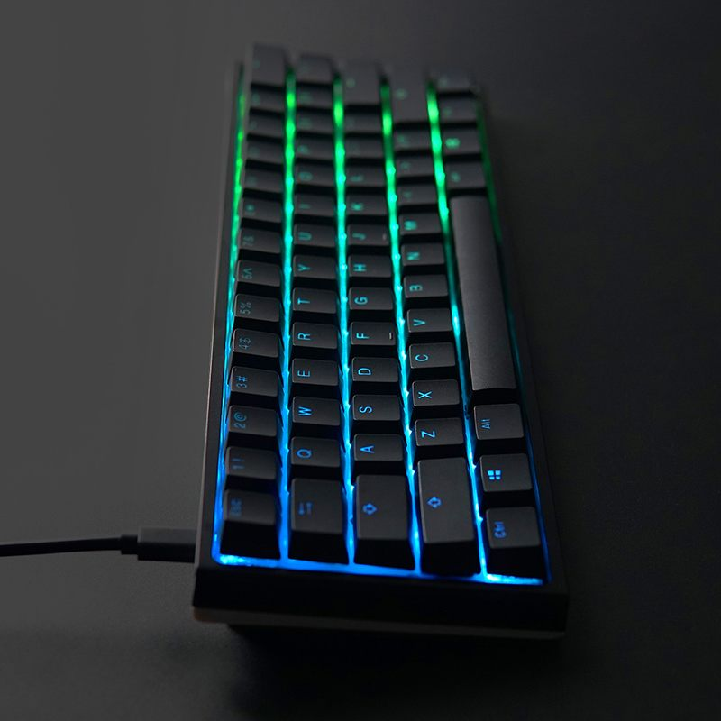 f4c9ce2a13e Gaming Mechanical Keyboard Ducky One 2 Mini RGB Cherry MX Blue Switch PBT  Keycap 60% RGB Mechanical Gaming Keyboard-in Keyboards from Computer &  Office on ...