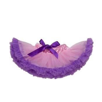 5c05defe3 2018 recién nacido dulce bebé niña falda hermosa esponjosa falda de Navidad  tutú princesa vestido de baile ropa de fiesta faldas