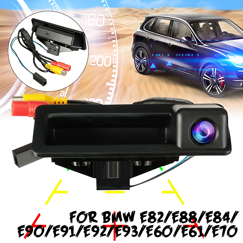 Car Reverse Rear View Camera Parking HD CCD Rearview Room For BMW E60 E61 E70 E71 E72 E82 E88 E84 E90 E91 E92 E93 X1 X5|Vehicle Camera| |  - title=