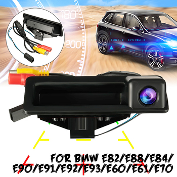 Car Reverse Rear View Camera Parking HD CCD Rearview Room For BMW E60 E61 E70 E71 E72 E82 E88 E84 E90 E91 E92 E93 X1 X5 image