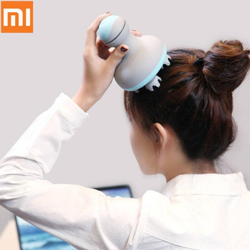 Original Xiaomi Mijia MINI Head Massager 3D Stereo Massage Wet And Dry 6 Kinds Massage Manual Massage Instrument Smart Home35