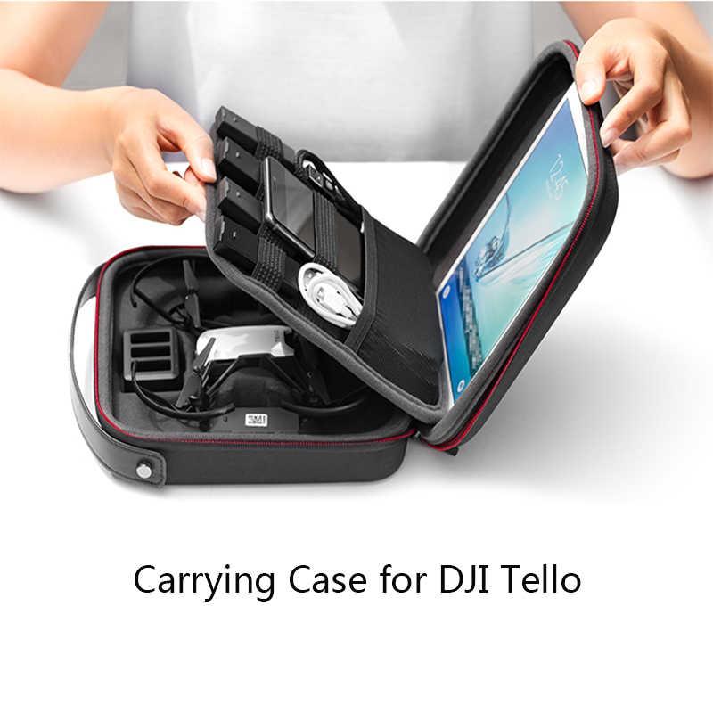 Pgytech Casing untuk DJI Tello Portable Konter Case Tas Penyimpanan Perjalanan Pelindung Koper Drone Aksesoris