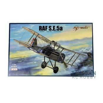Trumpeter 62402 1/24 British RAF S.E.5a Fighter Plastic Plane Model Aircraft TH06243-SMT2 image