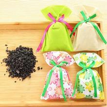 1 шт Натуральный Бамбуковый угольный мешок для холодильника автомобиля комнаты шкаф Запах Удалить дезодорант освежитель воздуха сумка#1016