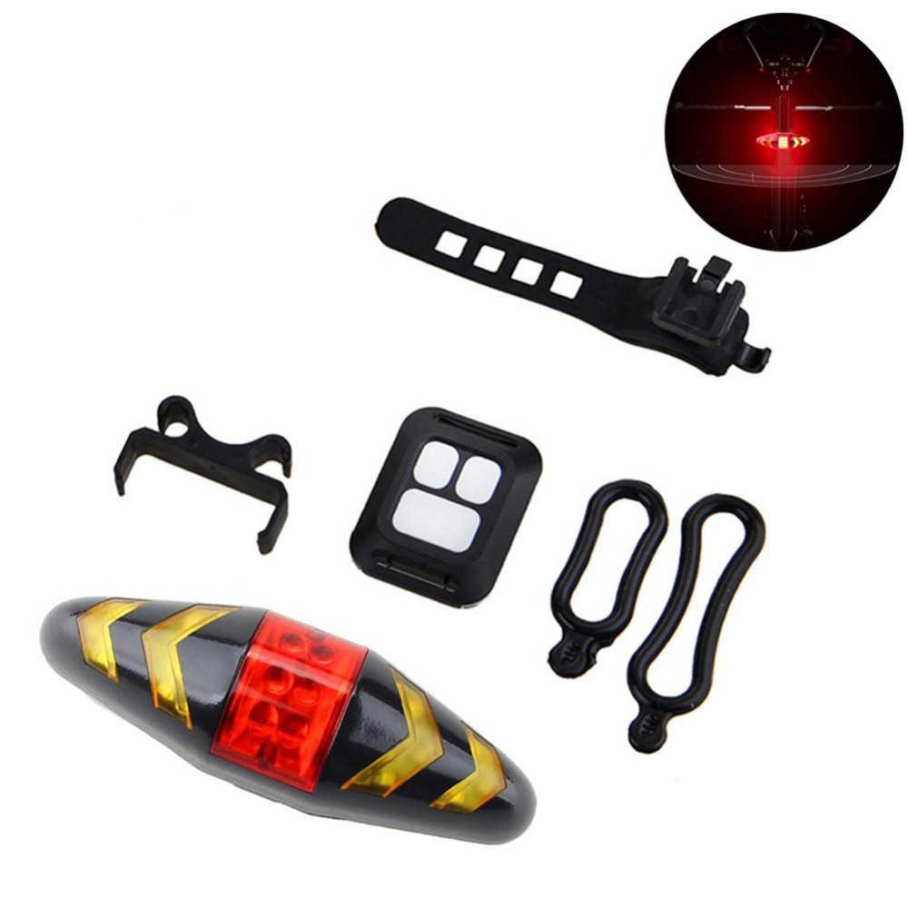 Bicycle Turn Signal Wireless Remote Mountain Bike Taillights Cycling Lights Flashing Headlights