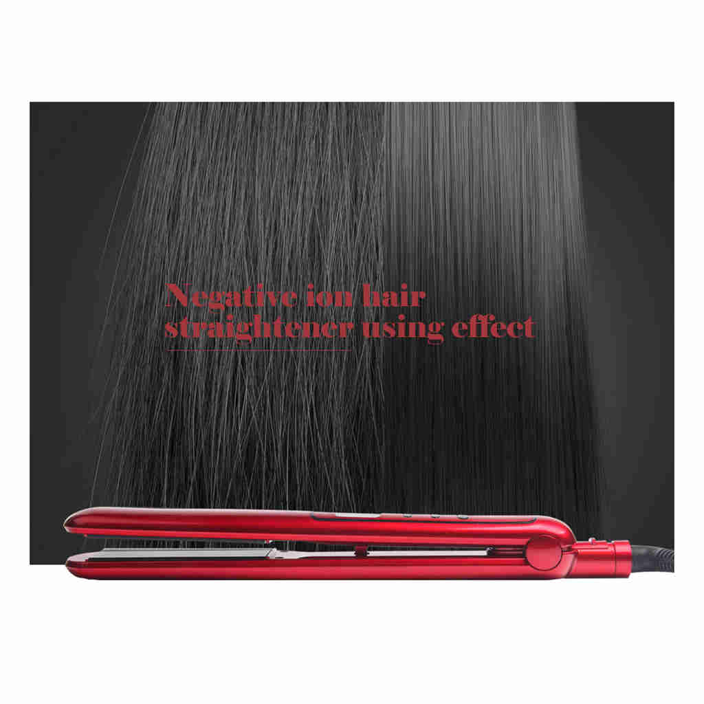 Ufree Lcd Display Electric Temperature Control Hair Straightener Hair Irons Waver Hairpin Splint Rapid Heating in Straightening Irons from Home Appliances