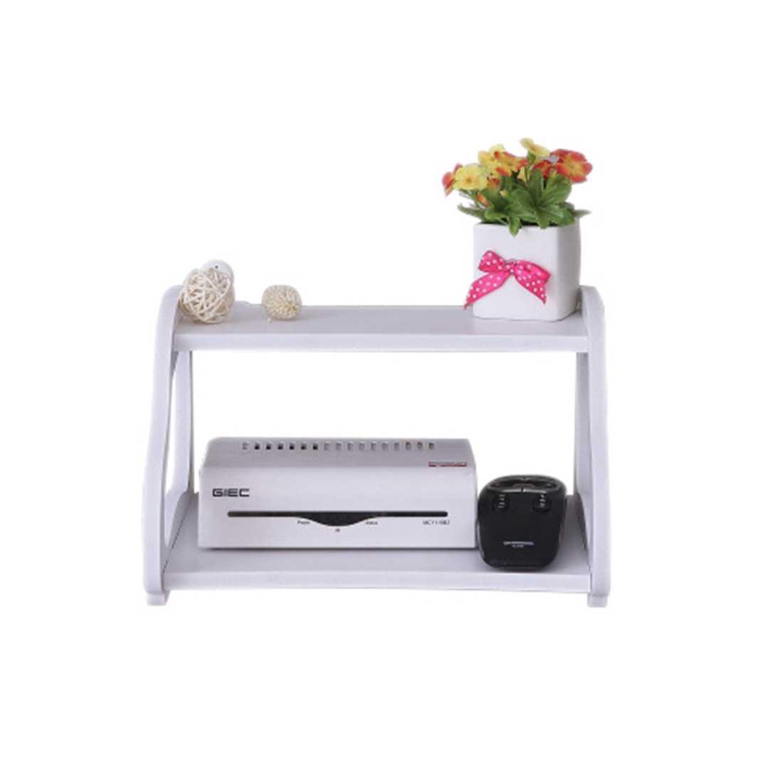 Креативный сад ТВ шкаф двойной набор-верхняя коробка-полка маршрутизатор ящик для хранения полка Кронштейн съемки реквизит