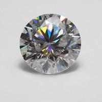 14mm DEF Round White Moissanite Stone Loose Moissanite Diamond 10 carat for Ring