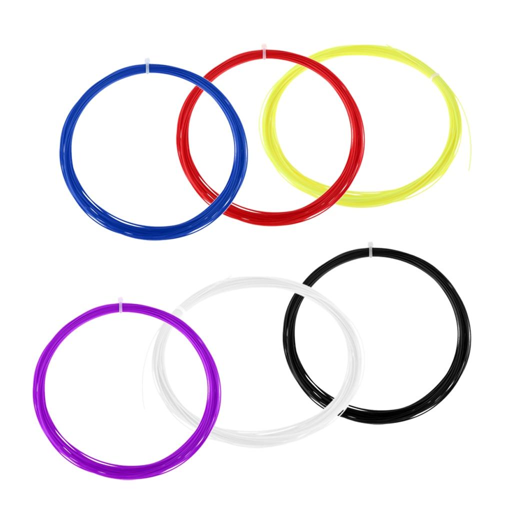 Premium Tennis Racquet Badminton Racket String Reel Wire 10 Meter DIY Tools -6 Color Available Badminton Racket String