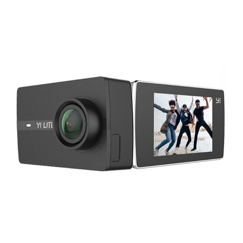 Xiaomi Yi Lite 4 к экшн Спортивная камера 16MP 2 сенсорный экран 150 широкоугольный объектив 2,4 г 5 г WiFi Bluetooth EIS видео рекордер черный
