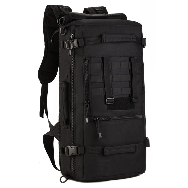 Plus Multi Purpose Travel Backpack Bag High Capacity Luggage Mountaineering Backpack Outside Male Oblique Satchel 50
