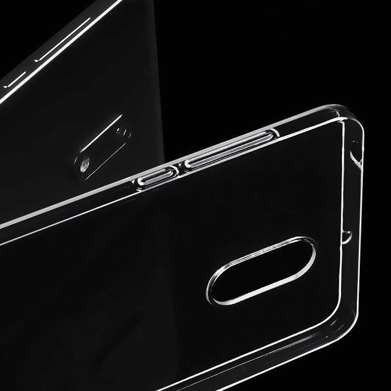 رقيقة جدا واضح شفاف لينة سيليكون تي بي يو جراب هاتف غطاء لعلامة نوكيا 1 3 5 8 6X6 2 7 9 2.1 3.1 5.1 7 Plus 2018 الحالات الخلفية