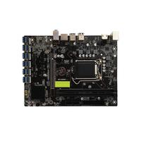 New B250 12P BTC Mainboard LGA1151 CPU 2*DDR4 DIMM Memory Dual Channel USB3.0 to PCIE Slot Expansion Adapter Desktop Mainboard
