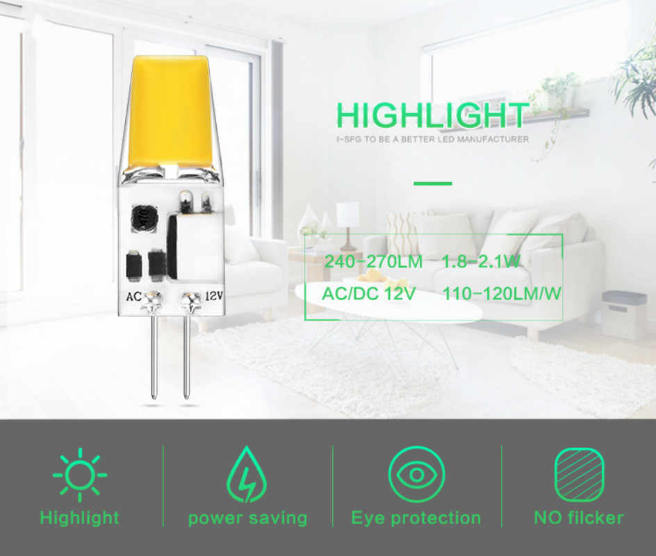Lkltfx 100 пакет 2 Вт лампада Led cob Led-лампа лампочка G4 светодиодные лампы 12 v Led G4 1508 светодиодные лампы для гостиной украшения лампады