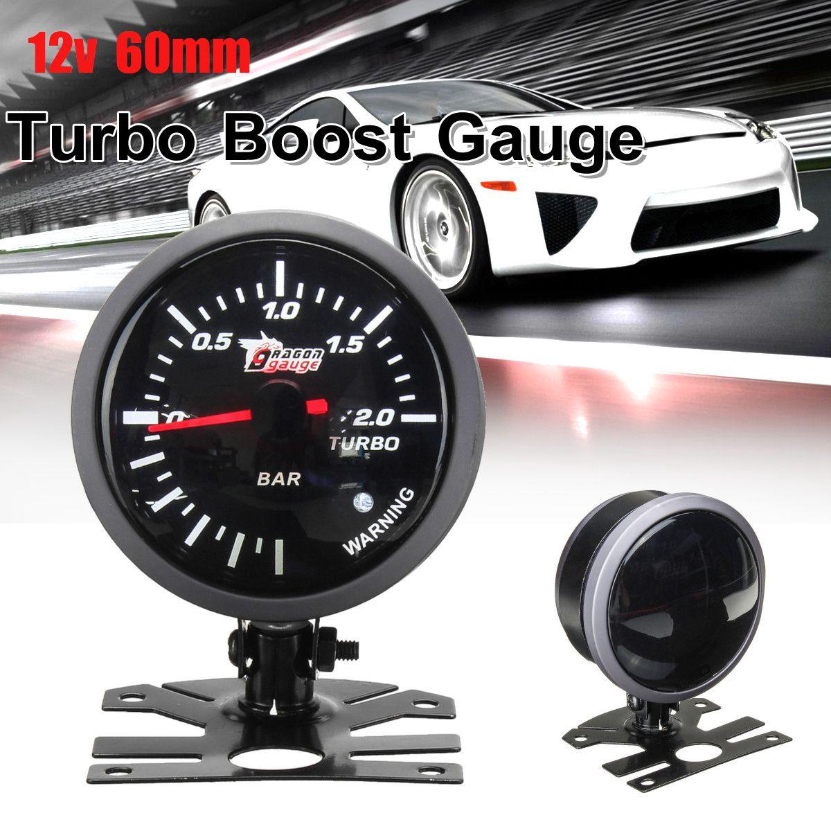 30inHg to 30PSI 52mm w// Blue LED DF06501 NEW Defi Racer Turbo Boost Gauge