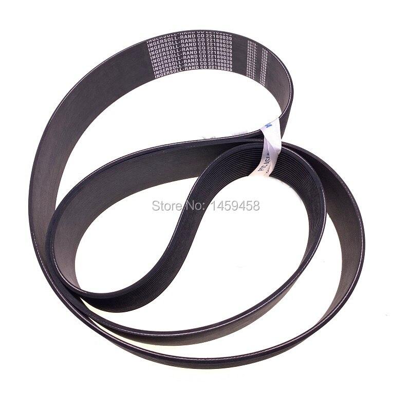 Free shipping 2pcs/lot 22189039 screw air compressor M30-37 leather belts conveyor beltFree shipping 2pcs/lot 22189039 screw air compressor M30-37 leather belts conveyor belt