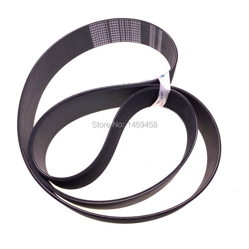 Livraison gratuite 2 pcs/lot 22189039 vis compresseur d'air M30-37 ceintures en cuir bande transporteuse