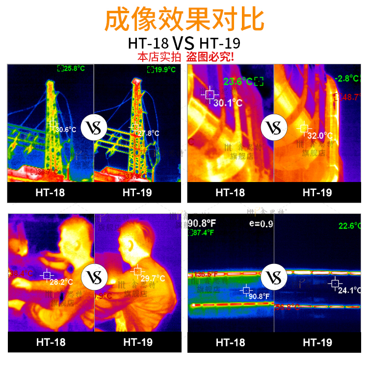 Professional Infrared Thermal Imager Camera With Ergonomic Handle 2