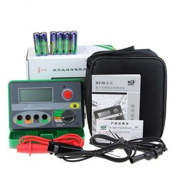 Dy30-1 Digital Insulation Resistance Tester Auto Range Megohmmeter 1000v 2000m Ohm