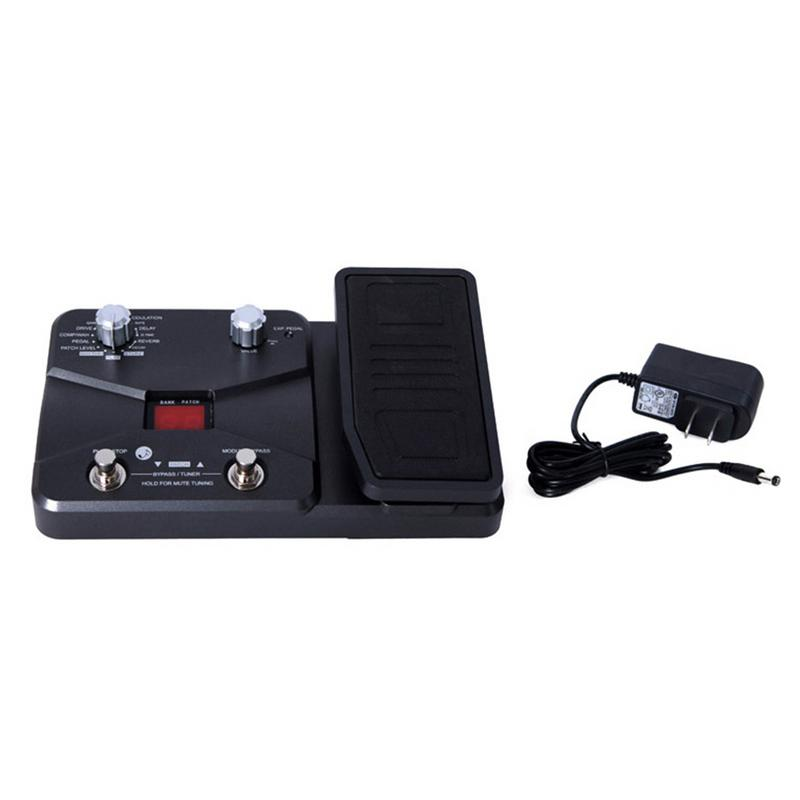 Function Effector Integrated Electric Guitar Effects Tuning With Pedal With Drum Machine Musical Instrument Guitar Parts EffectsFunction Effector Integrated Electric Guitar Effects Tuning With Pedal With Drum Machine Musical Instrument Guitar Parts Effects