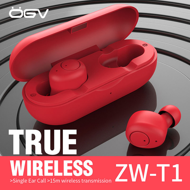 OGV Wireless Earphones 5.0 Bluetooth Earphone Invisible Earpiece With Charging Box Wireless Earbud In Ear Bluetooth Auriculares