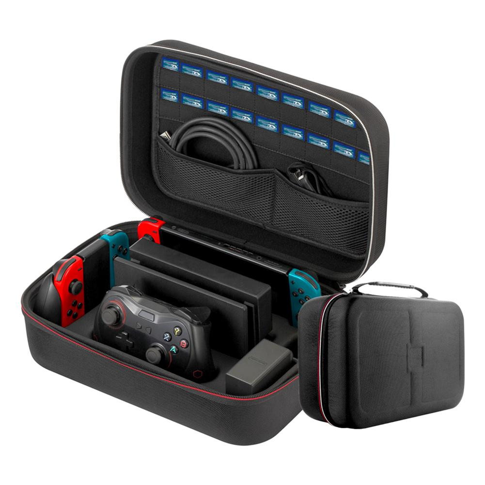 High Quality Large Capacity Gamepad Accessories Carrying Bag Travel and Storage Case for Nitendo Switch