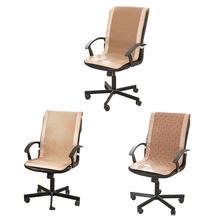 где купить Summer Office Chair Cool Mat One-piece Seat Backrest Cushion Comfortable Cool Breathable Strong Sweat Absorption Chair Cushion по лучшей цене