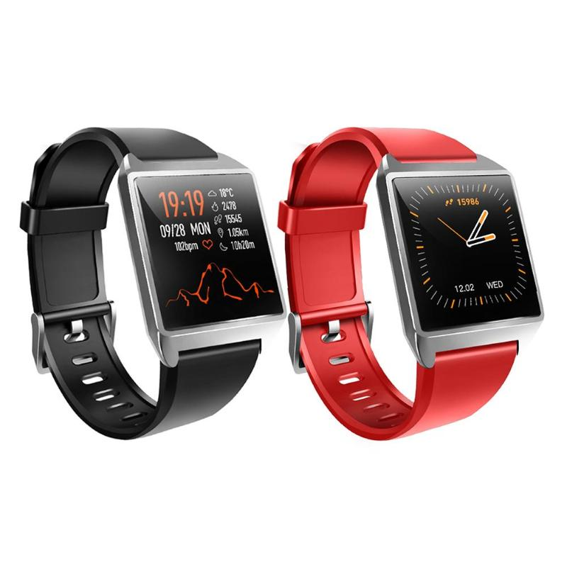 W2 Smart Watch Blood Pressure Heart Rate Monitor IP67 Sport Fitness Tracker image
