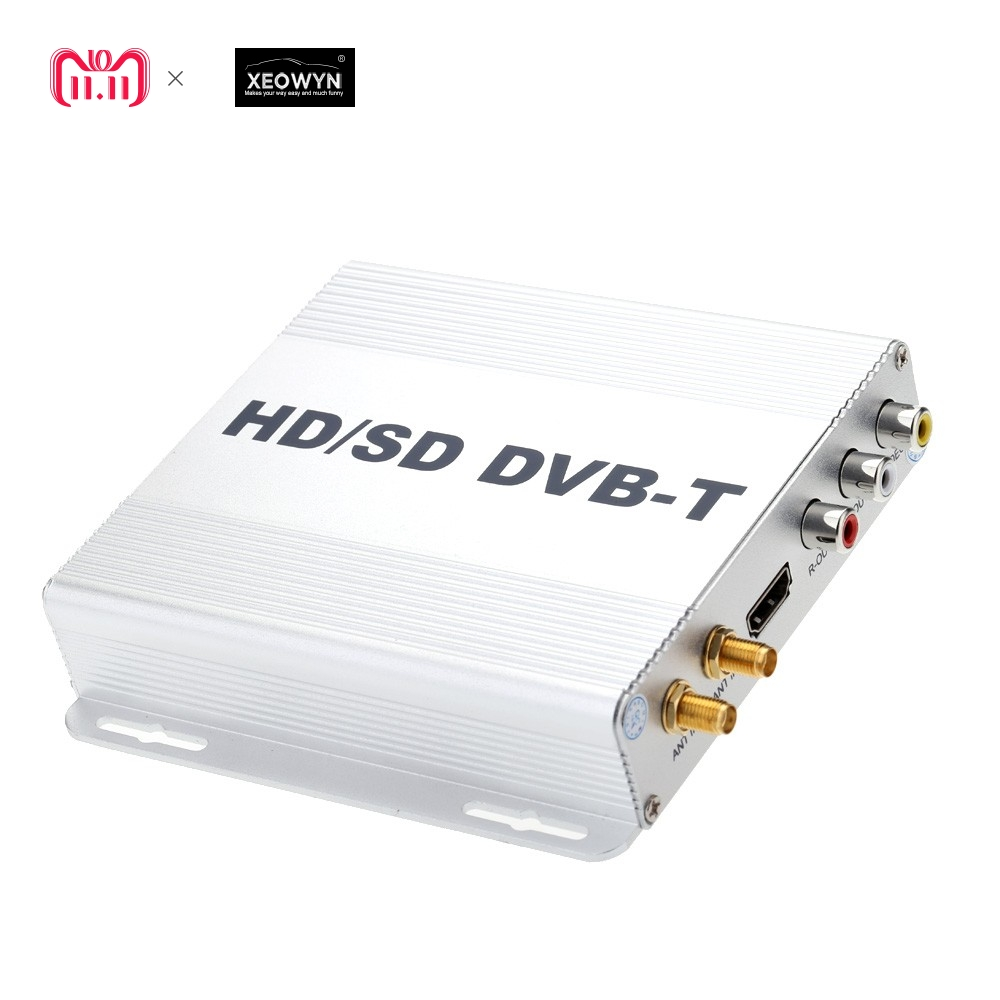 цена на HD Digital TV Receiver Box DVB-T Tuner MPEG2 MPEG4 Car GPS Navigation