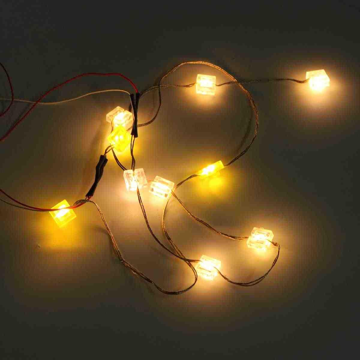 DIY LED Light zestaw oświetlenia dla Lego sklep budowlany modelu zabawki uniwersalne oświetlenie cegły zestaw nowy