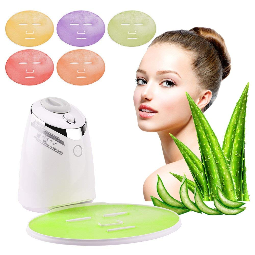 Face Mask Machine DIY Face Mask Maker Automatic Vegetable Face Mask Natural Collagen Fruit Face Mask Machine Beauty Facial SPAFace Mask Machine DIY Face Mask Maker Automatic Vegetable Face Mask Natural Collagen Fruit Face Mask Machine Beauty Facial SPA