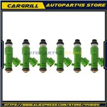 6 шт./лот для инжектор чистого топлива 550cc 14002-AN001 16600-JF00A для 2009-2013 3.8L 14002AN001 16600JF00A для Nissan